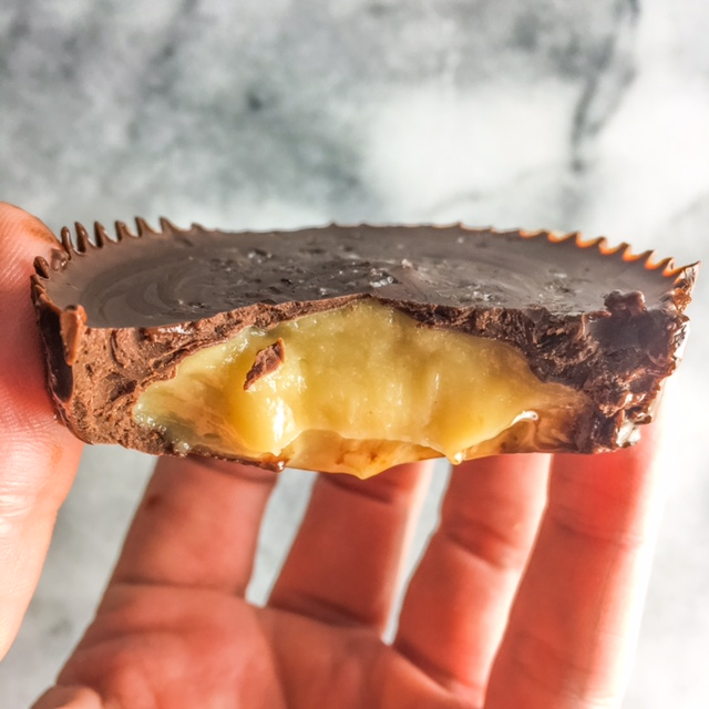 chocolate buttermint cup